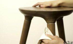 چطور غبار را از روی میزهای چوبی پاک کنیم؟ سایت 4s3.ir