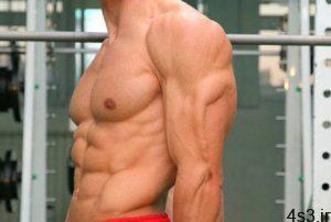 چند حرکت ورزشی برای تقویت عضلات پشت بازو در منزل سایت 4s3.ir