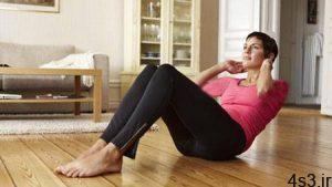 کرانچ (حرکت چربی سوز و تقویت عضلات شکمی) + آموزش صحیح انواع کرانچ سایت 4s3.ir