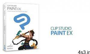 دانلود CLIP STUDIO PAINT EX v1.10.6 x64 + v1.7.3.1 + Materials - نرم افزار نقاشی دیجیتال و طراحی مانگا سایت 4s3.ir