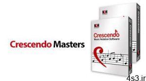 دانلود NCH Crescendo Masters Music Notation v5.58 - نرم افزار مدیریت و نوشتن نت های موسیقی سایت 4s3.ir