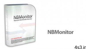 دانلود Nsasoft NBMonitor Network Bandwidth Monitor v1.6.7.0 - نرم افزار نمایش پهنای باند مصرفی اینترنت سایت 4s3.ir