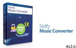 دانلود Sidify Music Converter for Spotify v2.2.0 - نرم افزار تبدیل فرمت قدرتمند موزیک های اسپاتیفای سایت 4s3.ir