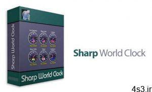 دانلود Sharp World Clock v9.2 - نرم افزار نمایش ساعت کشور های مختلف سایت 4s3.ir