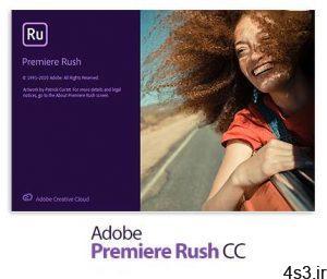 دانلود Adobe Premiere Rush v1.5.40 x64 - نرم افزار پریمیر راش، ویرایش آسان ویدئوها سایت 4s3.ir