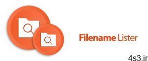 دانلود VovSoft Filename Lister v3.2 - نرم افزار ارائه لیست تمام فایل ها و فولدر ها سایت 4s3.ir