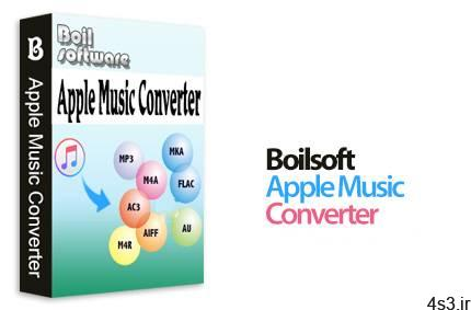 دانلود Boilsoft Apple Music Converter v6.8.7 - نرم افزار تبدیل فرمت آهنگ های اپل سایت 4s3.ir
