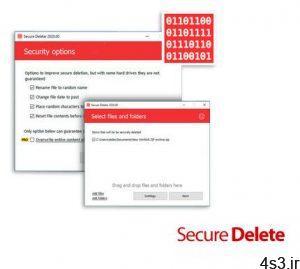 دانلود Secure Delete Professional v2021.00 - نرم افزار پاک کردن کامل و غیرقابل بازیابی فایل ها و فولدر ها سایت 4s3.ir