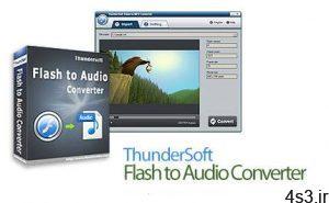 دانلود ThunderSoft Flash to Audio Converter v3.7.0 - نرم افزار تبدیل فلش به فایل MP3 سایت 4s3.ir