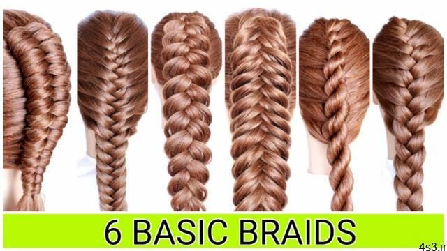 ۶ مدل بافت مو شیک و دخترانه سایت 4s3.ir
