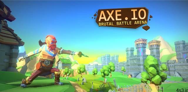 "AXE.IO Cover - دانلود AXE.IO 1.6.3 – بازی آرکید هیجان انگیز ""جنگجو تبردار"" اندروید + مود"
