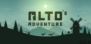 """دانلود Alto's Adventure 1.7.6 – بازی خارق العاده """"ماجراجویی آلتو"""" اندروید + مود سایت 4s3.ir"""