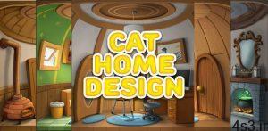 """دانلود Cat Home Design 1.19 – بازی تفننی خلاقانه """"طراحی خانه گربه ها"""" اندروید + مود سایت 4s3.ir"""