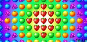 """دانلود Fruit Genies 1.21.0 – بازی تفننی """"میوه های شگفت انگیز"""" اندروید + مود سایت 4s3.ir"""