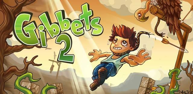 "Gibbets 2 Bow Arcade Puzzle Cover - دانلود Gibbets 2: Bow Arcade Puzzle 1.0.38 – بازی آرکید جالب و متفاوت ""چوبه دار 2"" اندروید + مود"