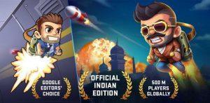 """دانلود Jetpack Joyride India Exclusive – Action Game 23.10160 – بازی اکشن پرطرفدار """"پرواز با موتور جت"""" اندروید + مود سایت 4s3.ir"""