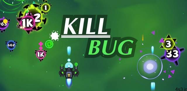 "Kill Bug Cover - دانلود Kill Bug – Infinity Shooting 1.1.6 – بازی آرکید ""کشتار ویروس ها"" اندروید + مود"