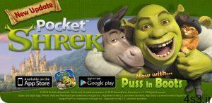 دانلود Pocket Shrek 2.11 – بازی باحال شِرِک اندروید + مود + دیتا سایت 4s3.ir