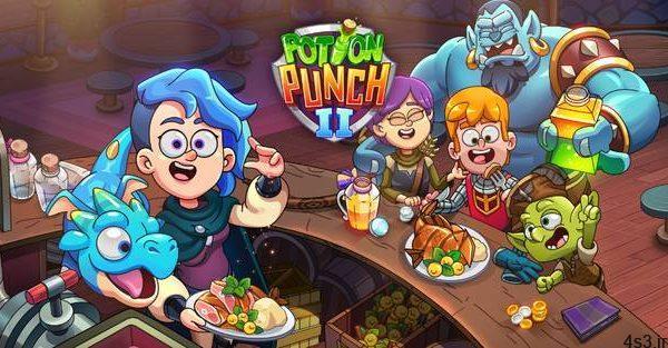 """دانلود Potion Punch 2 1.6.3 – بازی تفننی – مدیریتی """"مغازه معجون فروشی 2"""" اندروید + مود + دیتا سایت 4s3.ir"""