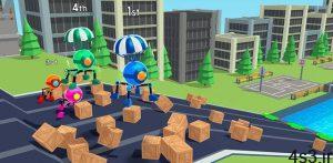 """دانلود Rolly Legs 3.2.0 – بازی آرکید-تفننی سرگرم کننده """"رقابت ربات ها"""" اندروید + مود سایت 4s3.ir"""