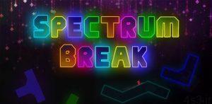 """دانلود Spectrum Break 2.3 – بازی آرکید """"روشن کردن اشکال هندسی"""" اندروید + مود سایت 4s3.ir"""