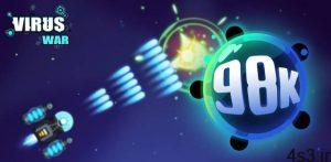 """دانلود Virus War 1.8.6 – بازی آرکید جذاب و هیجان انگیز """"جنگ ویروسی"""" اندروید + مود سایت 4s3.ir"""