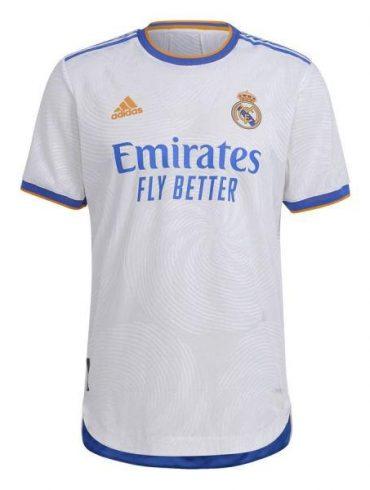 تی شرت ورزشی مردانه مدل رئال مادرید home 2021-22 غیر اصل