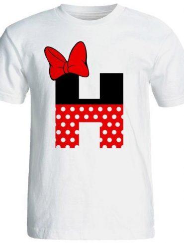 تی شرت آستین کوتاه زنانه شین دیزاین طرح میکی موس H کد 4532